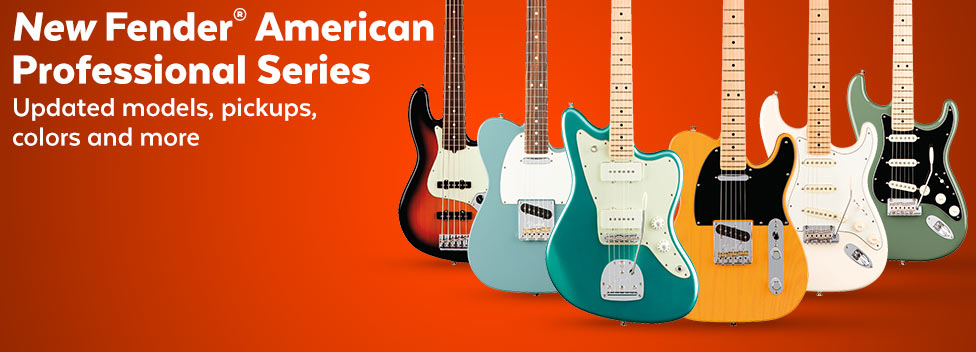 New Fender American Professional Series