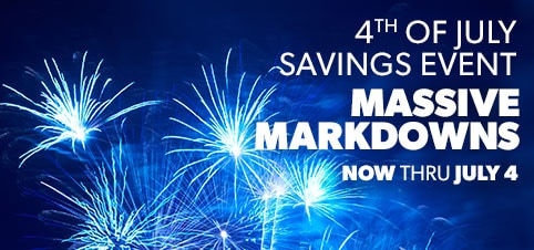 4th of July Massive Markdowns