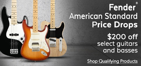 Fender Price Drops