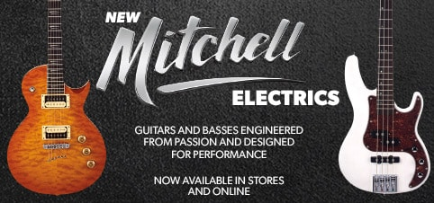 New Mitchell Electric Guitars
