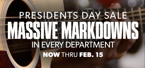 Presidents Day Massive Markdowns