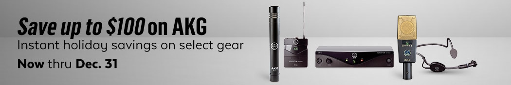 AKG Microphone Savings