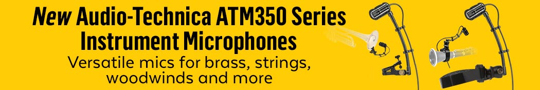 Audio-Technica ATM350 Microphones