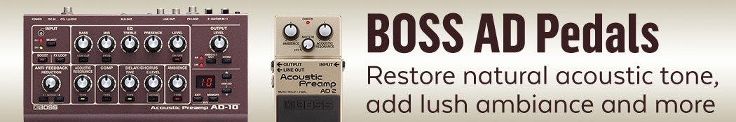 Boss AD Pedals
