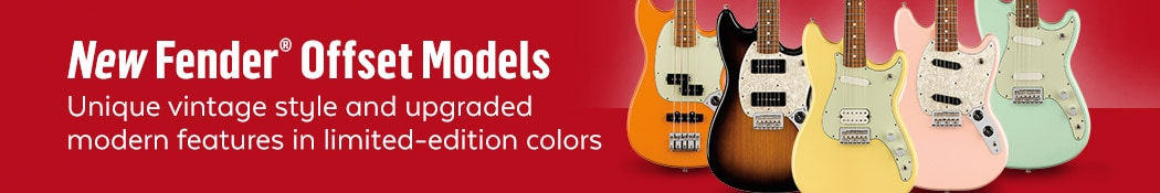 Fender Offset Guitars