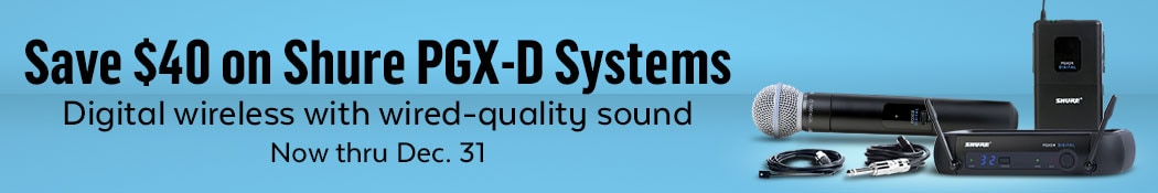 Shure PGX-D Wireless Systems