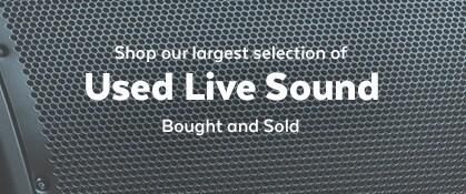Used Live Sound
