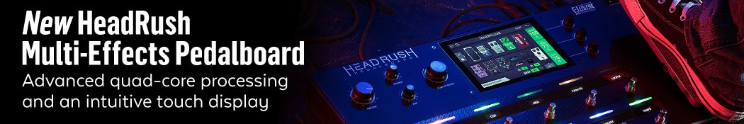 HeadRush Multi-Effects Pedalboard
