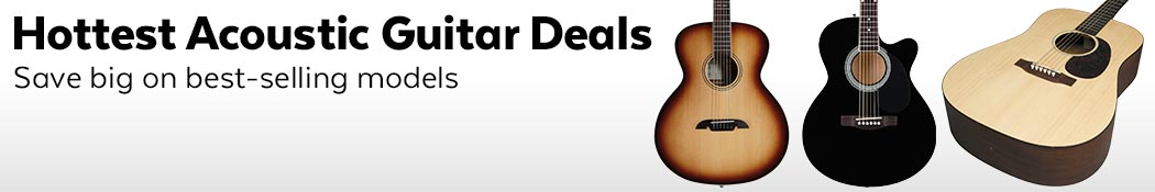 Hottest Acoustic Guitar Deals