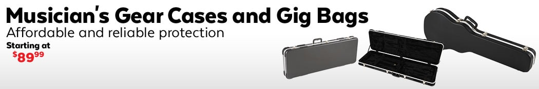 Musician's Gear Electric Guitar Cases and Gig Bags