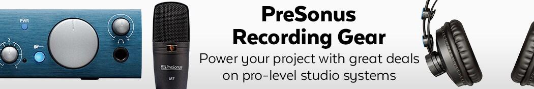 PreSonus Recording Gear