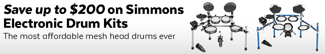 Simmons Electronic Drum Kits