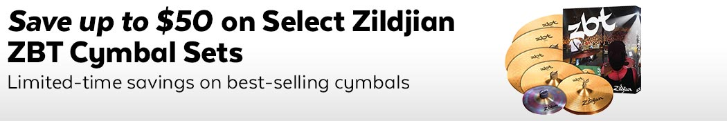 Zildjian ZBT Cymbal Set Savings