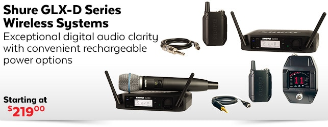 Shure GLX-D Wireless