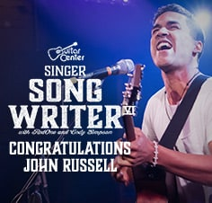 Congratulations to Singer-Songwriter 6 winner John Russell. Watch his winning performance here.