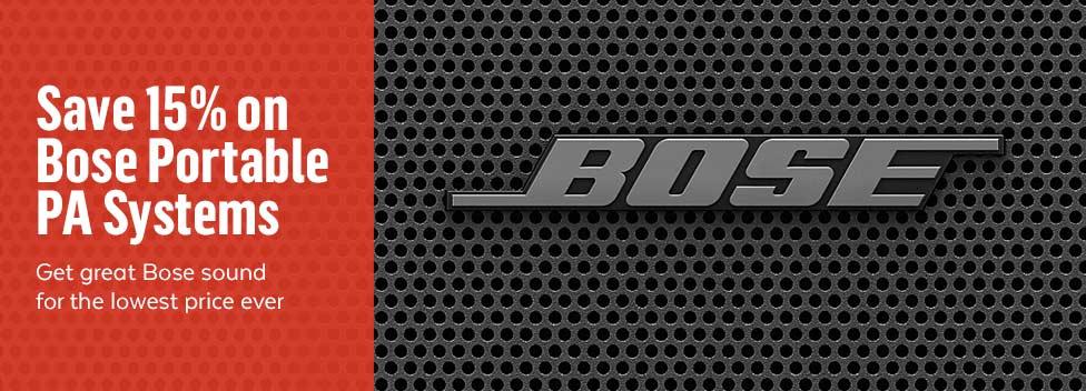 Bose 15% Off