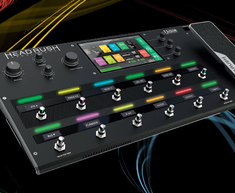 New Headrush Multi-Effects Pedalboard