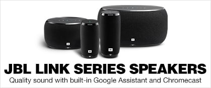 JBL Link Voice-Activated Speakers