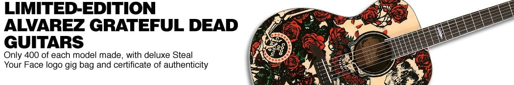 Alvarez Grateful Dead OM Acoustic Guitars