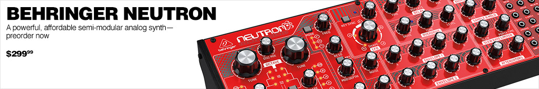 Behringer NEUTRON  Synthesizer