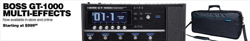Boss GT-1000 Multi-Effects Guitar Pedal