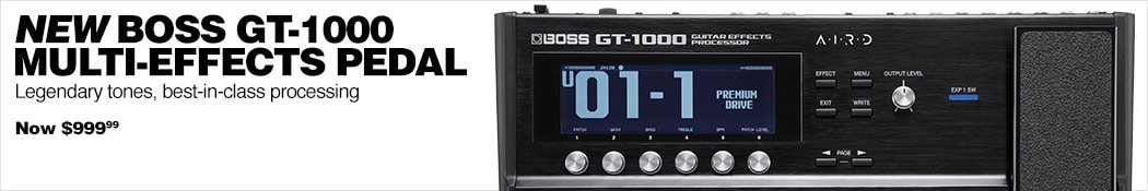 Boss GT1000 Multi-Effects Pedal