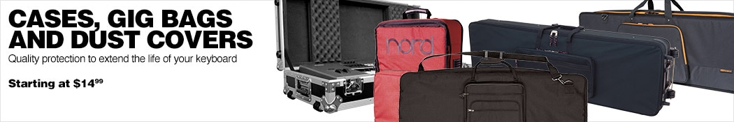 Cases, Gig Bags and Dust Covers