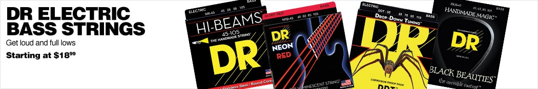 DR Electric Bass Strings
