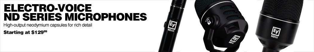 Electro-Voice ND Series Microphones