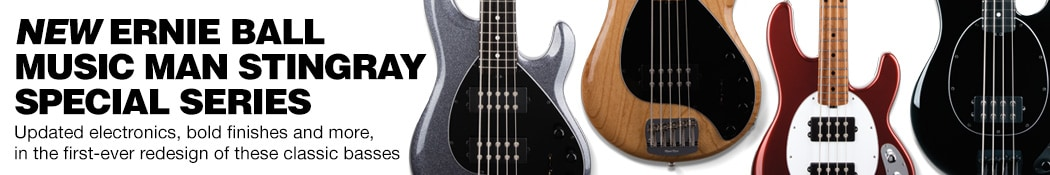 Ernie Ball Music Man StingRay Special Basses