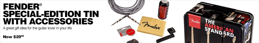 Fender Accessories Tin and Cable Starter Pack
