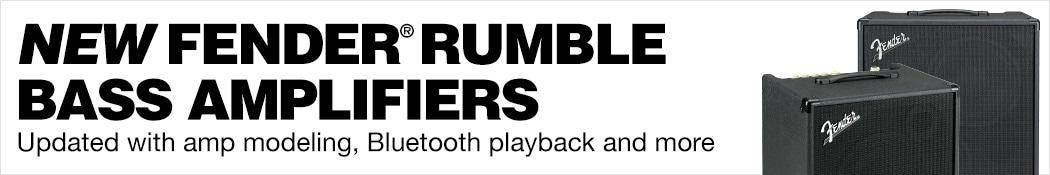 Fender Rumble Amplifiers