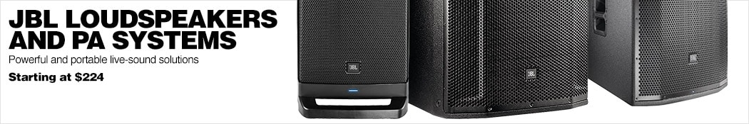 JBL PA Systems