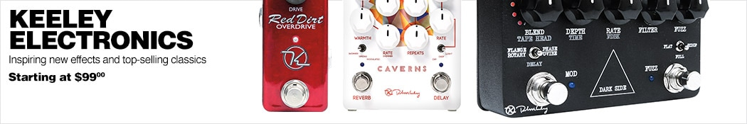 Keeley Electronics Pedals