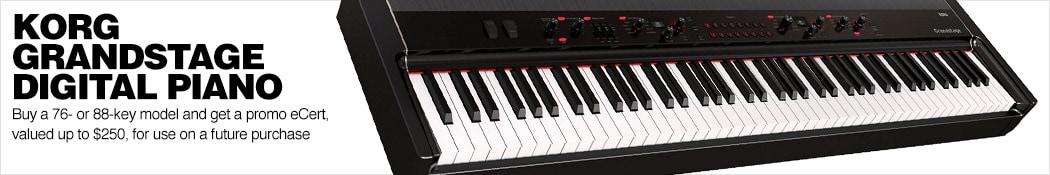 Korg Grandstage Piano eCert