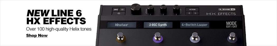 Line 6 HX Multi-Effects Pedal