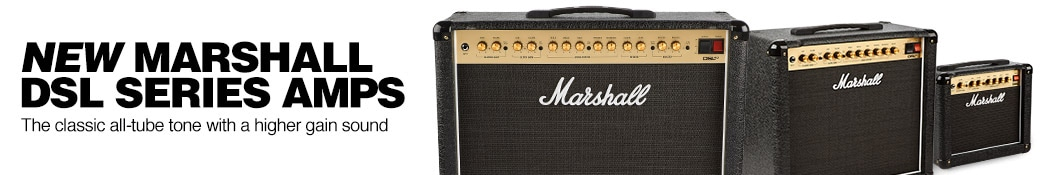 Marshall DSL Series Amplifiers