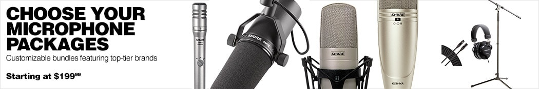 Microphone Packages