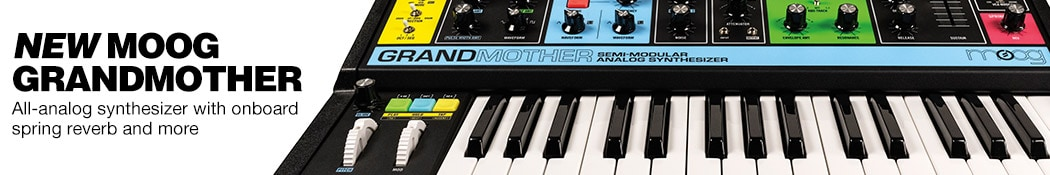 Moog Grandmother Semi-Modular Analog Synth