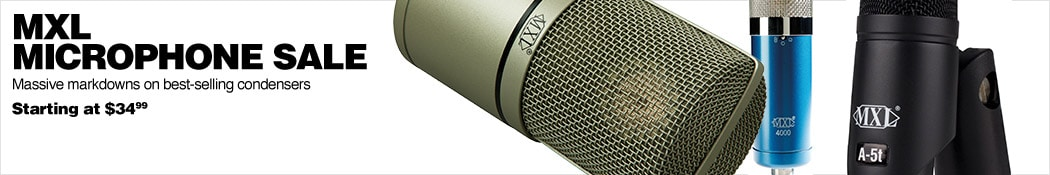 MXL Condenser Microphones