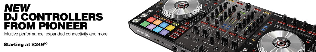 New DJ Controllers from Pioneer