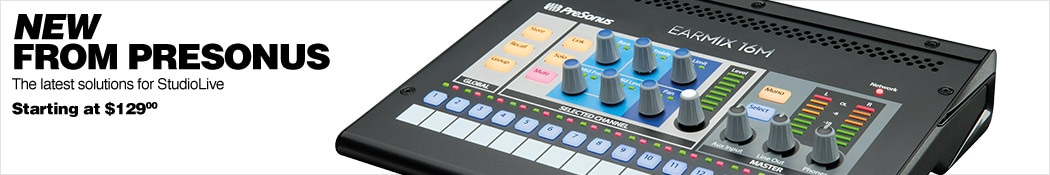 New from Presonus - Studiolive Solutions