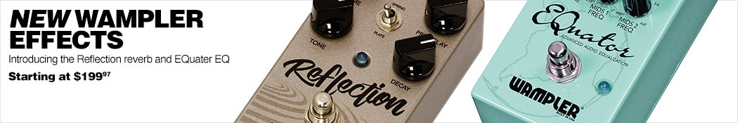 New Wampler Effects