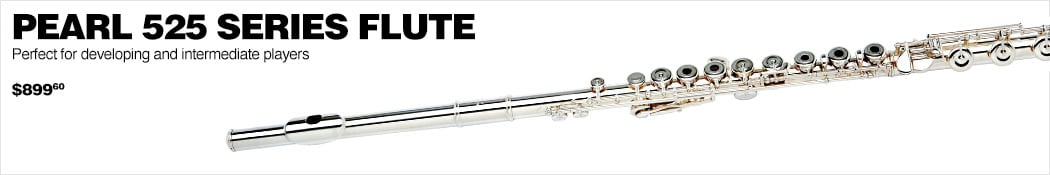 Pearl 525 Series Flute. Perfect for developing and intermediate players $899.60