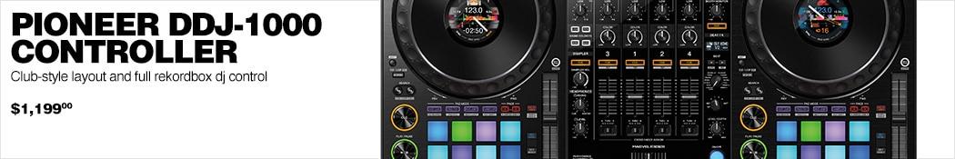 Pioneer DDJ-1000 Controller.  Club-style layout and full rekordbox dj control. $1199.00