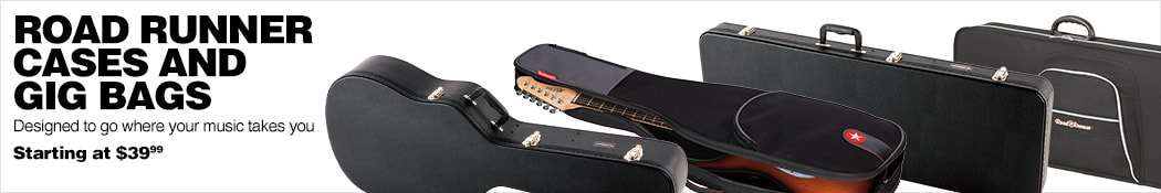 Road Runner Guitar Cases and Bags