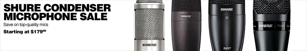 Shure Condenser Microphone Sale