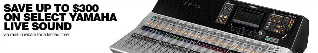 Yamaha Live Sound Rebate