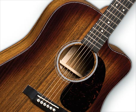 New Martin DC SPC Ovangkol Acoustic/Electric