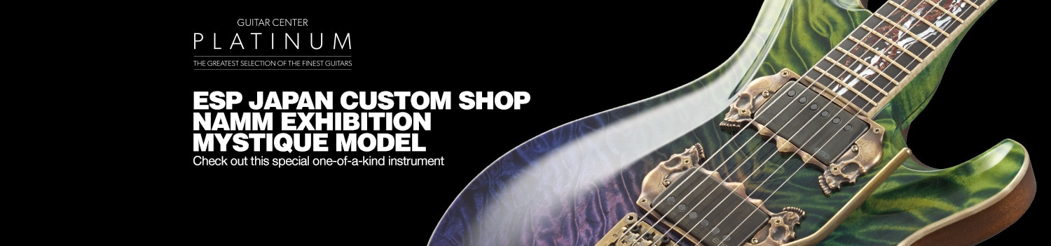 ESP Custom Shop NAMM Exhibition